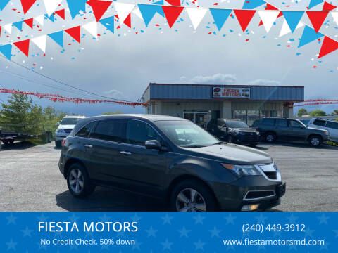 2012 Acura MDX for sale at FIESTA MOTORS in Hagerstown MD