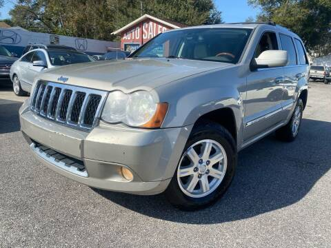 2008 Jeep Grand Cherokee for sale at CHECK  AUTO INC. in Tampa FL