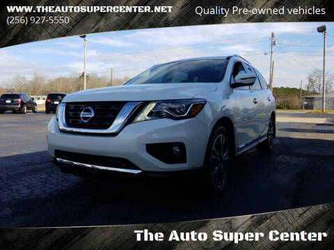 2017 Nissan Pathfinder for sale at The Auto Super Center in Centre AL
