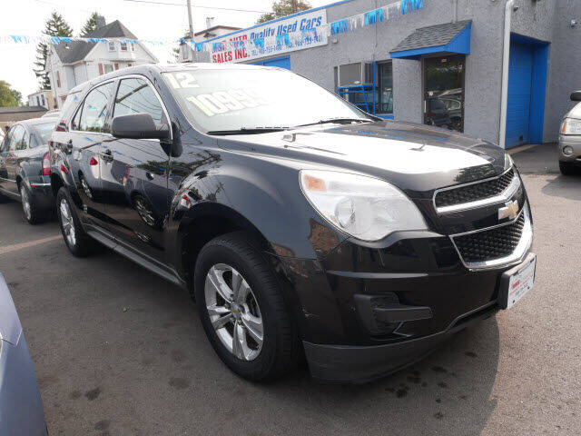 2012 Chevrolet Equinox for sale at M & R Auto Sales INC. in North Plainfield NJ