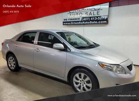2010 Toyota Corolla for sale at Orlando Auto Sale in Orlando FL