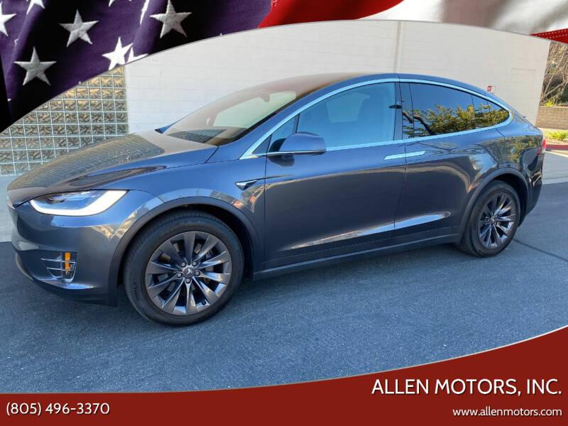 2017 Tesla Model X for sale at Allen Motors, Inc. in Thousand Oaks CA