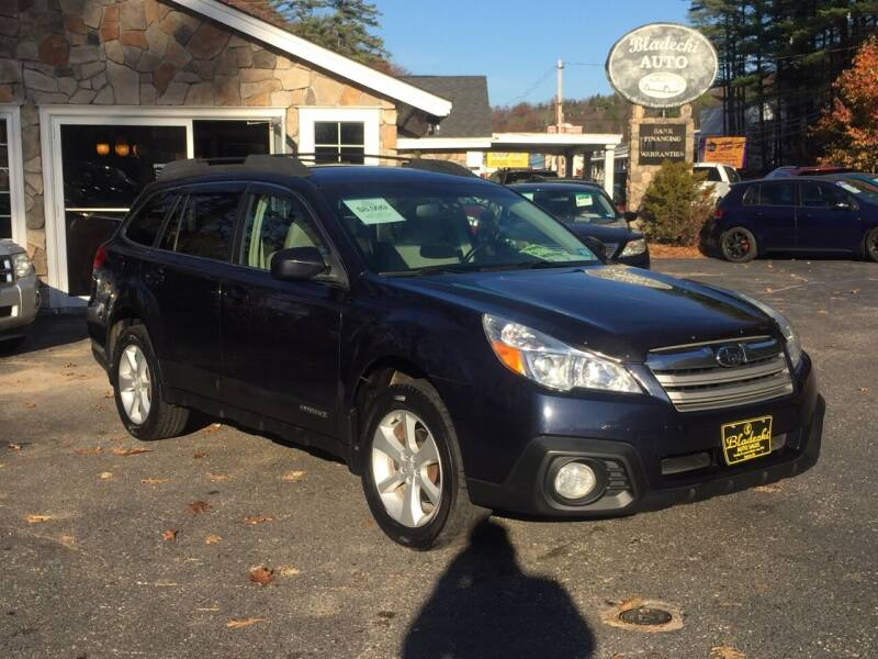 2013 Subaru Outback for sale at Bladecki Auto in Belmont NH