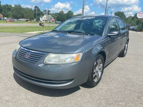 2005 Saturn Ion for sale at CVC AUTO SALES in Durham NC