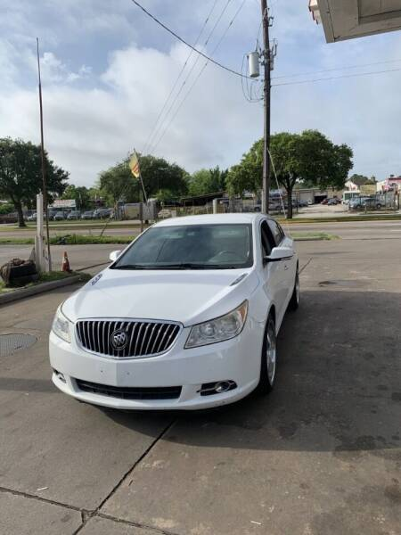 2013 Buick LaCrosse for sale at Eshaal Cars of Texas in Houston TX