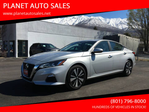 2021 Nissan Altima for sale at PLANET AUTO SALES in Lindon UT