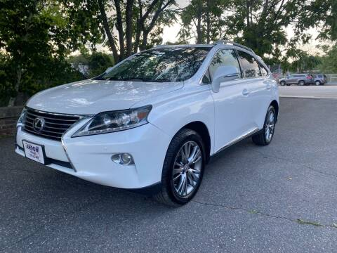 2013 Lexus RX 350 for sale at ANDONI AUTO SALES in Worcester MA