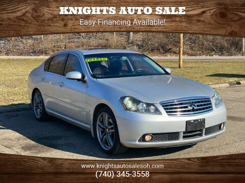 2007 Infiniti M35 for sale at Knights Auto Sale in Newark OH