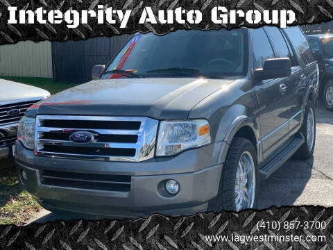 2011 Ford Expedition for sale at Integrity Auto Group in Westminister MD