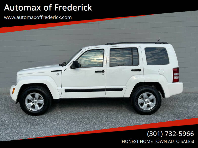 2010 Jeep Liberty for sale at Automax of Frederick in Frederick MD