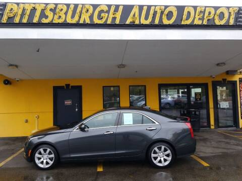 2016 Cadillac ATS for sale at Pittsburgh Auto Depot in Pittsburgh PA