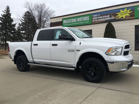 2014 RAM Ram Pickup 1500 for sale at MILESTONE MOTORS in Chesterfield MI