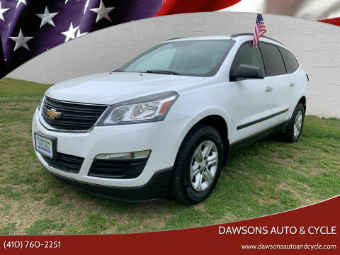 2016 Chevrolet Traverse for sale at Dawsons Auto & Cycle in Glen Burnie MD