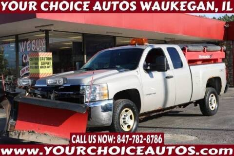 2009 Chevrolet Silverado 2500HD for sale at Your Choice Autos - Waukegan in Waukegan IL