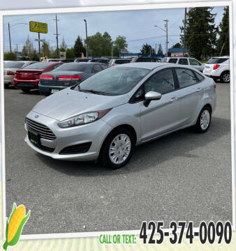 2016 Ford Fiesta for sale at Corn Motors in Everett WA