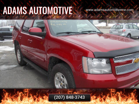 2014 Chevrolet Tahoe for sale at Adams Automotive in Hermon ME