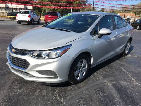 2017 Chevrolet Cruze for sale at IMPALA MOTORS in Memphis TN