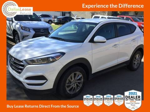 2018 Hyundai Tucson for sale at Dallas Auto Finance in Dallas TX