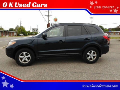 2008 Hyundai Santa Fe for sale at O K Used Cars in Sauk Rapids MN