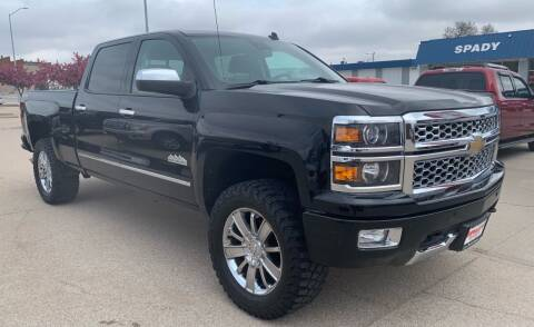 2014 Chevrolet Silverado 1500 for sale at Spady Used Cars in Holdrege NE