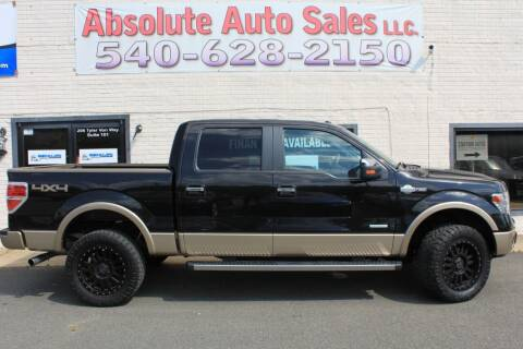 2014 Ford F-150 for sale at Absolute Auto Sales in Fredericksburg VA
