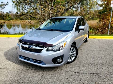 2012 Subaru Impreza for sale at Excalibur Auto Sales in Palatine IL
