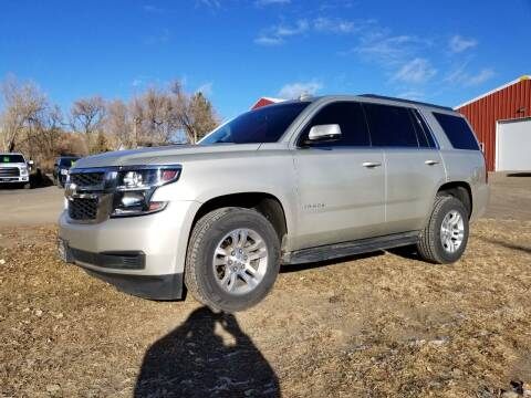 2016 Chevrolet Tahoe for sale at A & B Auto Sales in Ekalaka MT