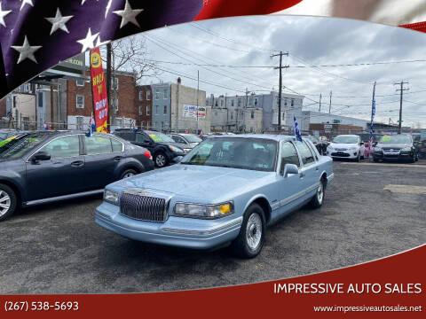 1997 Lincoln Town Car for sale at Impressive Auto Sales in Philadelphia PA