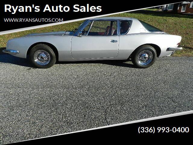 1973 Studebaker Avanti for sale at Ryan's Auto Sales in Kernersville NC