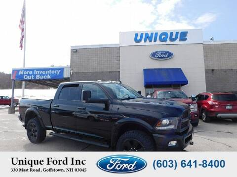 2016 RAM Ram Pickup 2500 for sale at Unique Motors of Chicopee - Unique Ford in Goffstown NH