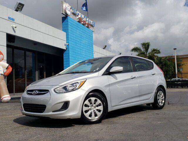 2017 Hyundai Accent for sale at Tech Auto Sales in Hialeah FL