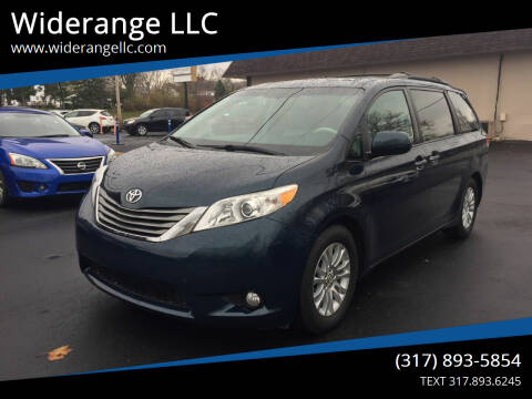 2012 Toyota Sienna for sale at Widerange LLC in Greenwood IN