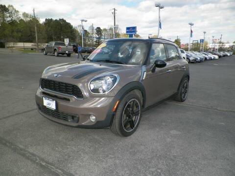 2012 MINI Cooper Countryman for sale at Paniagua Auto Mall in Dalton GA