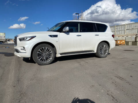 2019 Infiniti QX80 for sale at Truck Buyers in Magrath AB