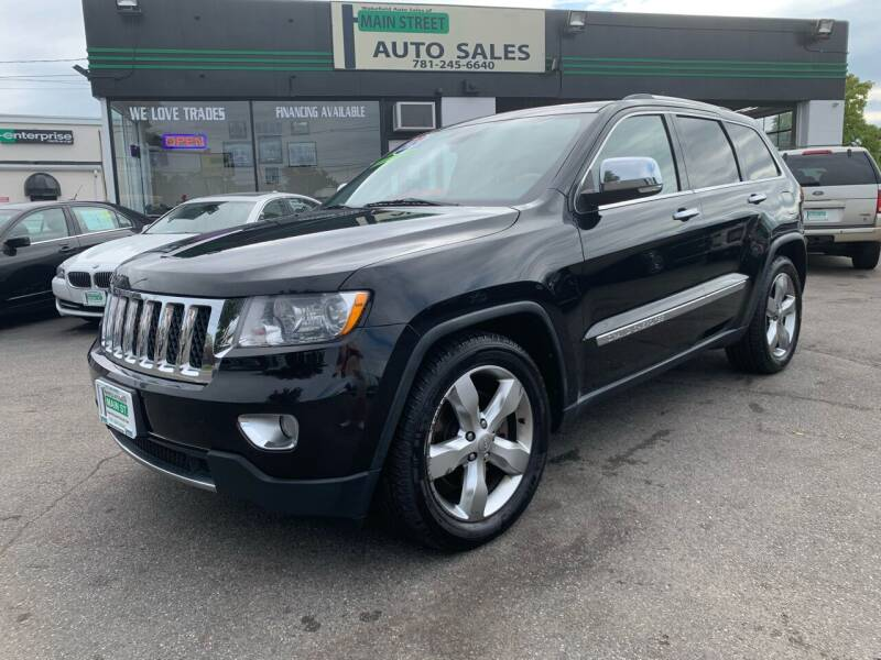 2012 Jeep Grand Cherokee for sale at Wakefield Auto Sales of Main Street Inc. in Wakefield MA
