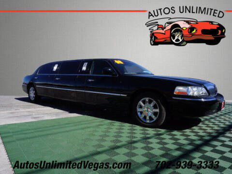 2008 Lincoln Town Car for sale at Autos Unlimited in Las Vegas NV