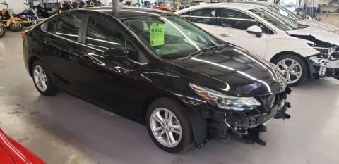 2016 Chevrolet Cruze for sale at Adams Enterprises in Knightstown IN