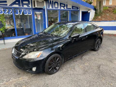 2007 Lexus IS 250 for sale at Car World Inc in Arlington VA