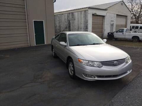 2002 Toyota Camry Solara for sale at J'S MAGIC MOTORS in Lebanon PA