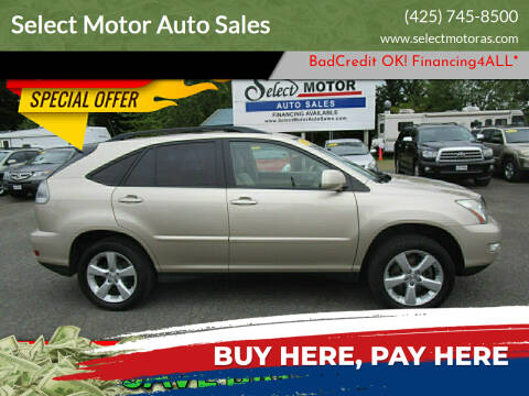 2005 Lexus RX 330 for sale at Select Motor Auto Sales in Lynnwood WA