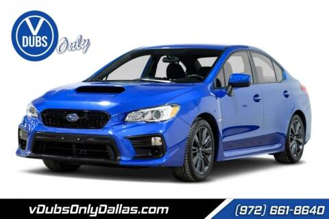 2019 Subaru WRX for sale at VDUBS ONLY in Dallas TX