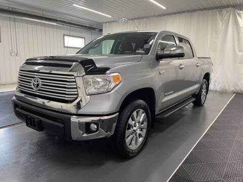2017 Toyota Tundra for sale at Monster Motors in Michigan Center MI