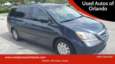 2005 Honda Odyssey for sale at Used Autos of Orlando in Orlando FL