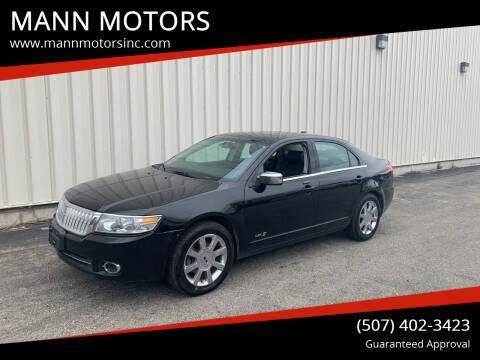 2007 Lincoln MKZ for sale at MANN MOTORS in Albert Lea MN