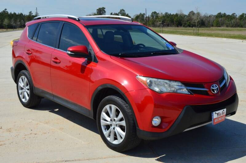 2014 Toyota RAV4 for sale at Fincher's Texas Best Auto & Truck Sales in Tomball TX
