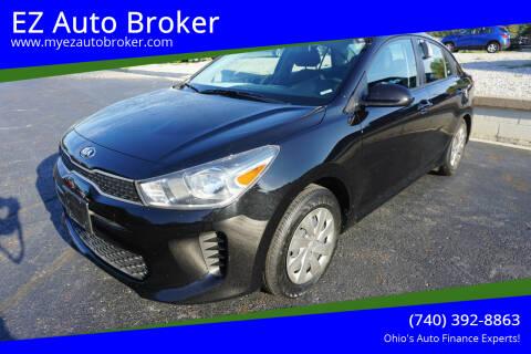 2020 Kia Rio for sale at EZ Auto Broker in Mount Vernon OH