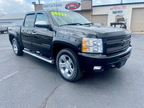 2010 Chevrolet Silverado 1500 for sale at Used Car Factory Sales & Service Troy in Troy OH
