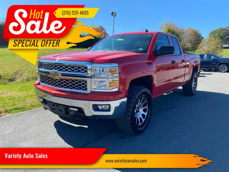 2014 Chevrolet Silverado 1500 for sale at Variety Auto Sales in Abingdon VA