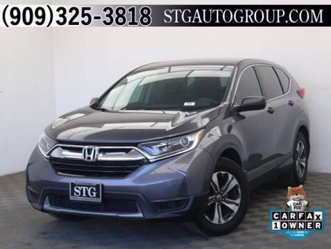 2018 Honda CR-V for sale at STG Auto Group in Montclair CA