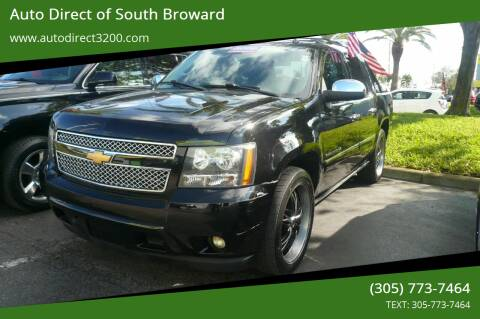 2013 Chevrolet Avalanche for sale at Auto Direct of South Broward in Miramar FL